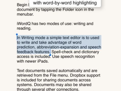 iWordQ UK - Screenshot
