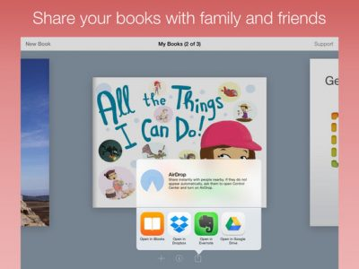 Book Creator for iPad - Screenshot