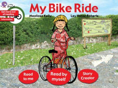 Collins Big Cat: My Bike Ride Story Creator - Screenshot