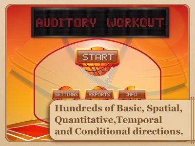 Auditory Workout - Screenshot