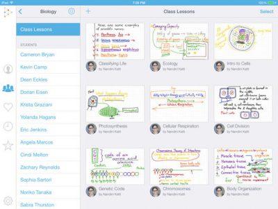 Educreations Interactive Whiteboard - Screenshot