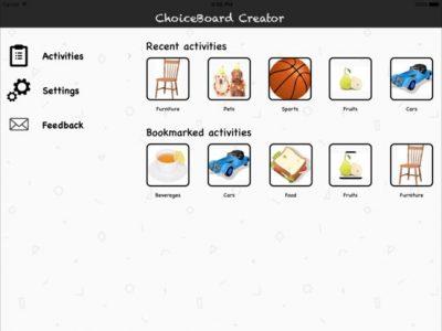 ChoiceBoard-Creator - Screenshot