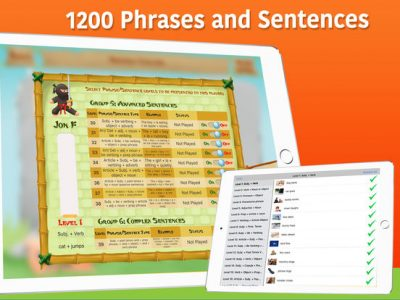Sentence Ninja - Screenshot