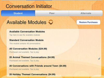 ConversationBuilder™ - Screenshot