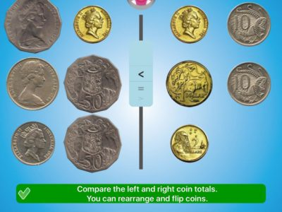 Jungle Coins – learn coin math - Screenshot