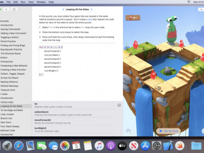 Swift Playgrounds - Screenshot
