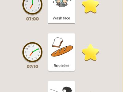 Kids ToDo List - Screenshot