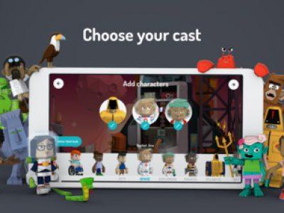 Toontastic 3D - Screenshot