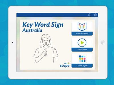 Key Word Sign Australia – Auslan Resource - Screenshot