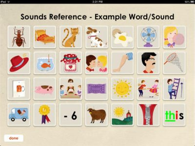 Oz Phonics 1 – Phonemic Awareness and Letter Sounds - Screenshot