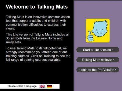 Talking Mats Pro - Screenshot
