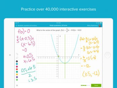 Khan Academy - Screenshot