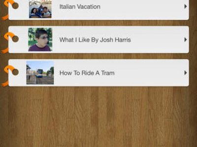 Pictello – Talking visual story creator - Screenshot