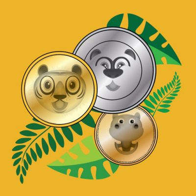 Jungle Coins – learn coin math